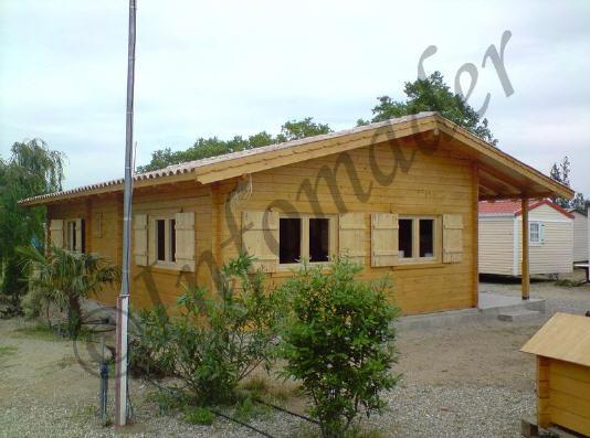 Casas de madera maribel 90m2 - Infomader casas de madera ...