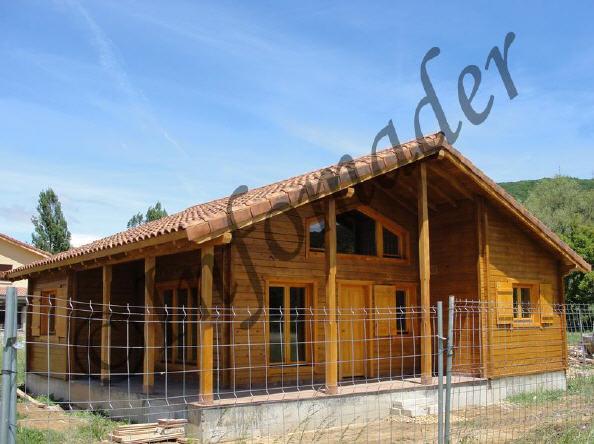 Casas de madera panoramic 94m2 - Infomader casas de madera ...