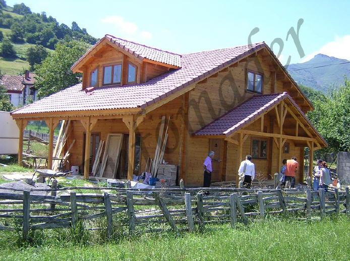 Casas de madera sonia 199m2 - Infomader casas de madera ...