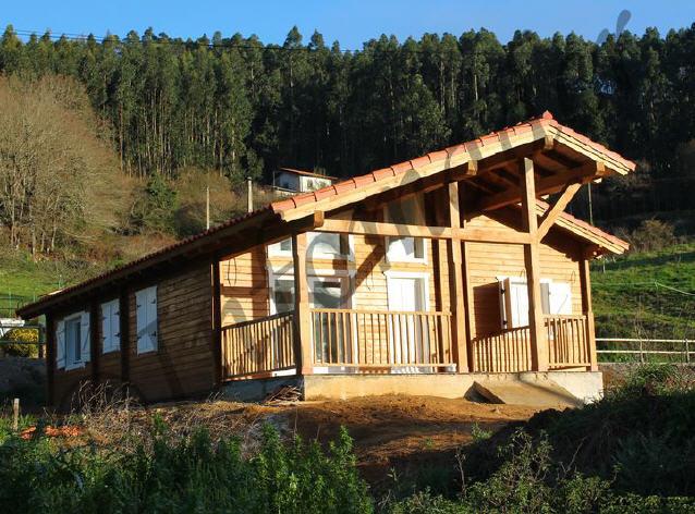 Casas de madera cecilia 110 m2 - Infomader casas de madera ...