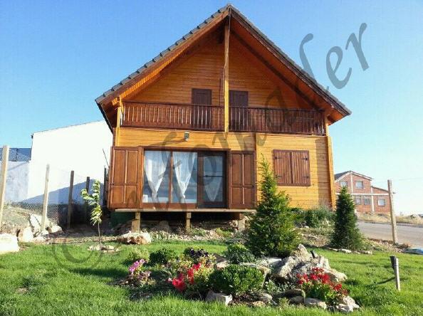 Casas de madera maria 151m2 - Infomader casas de madera ...