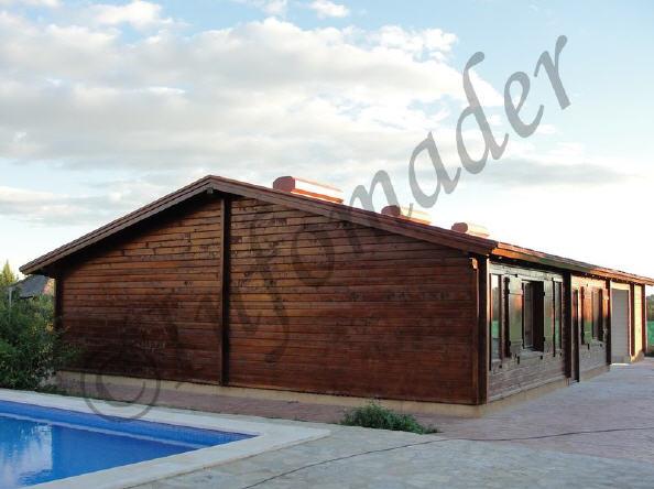 Casas de madera nave - Infomader casas de madera ...