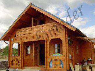 Casas de madera katrina 118m2 - Infomader casas de madera ...