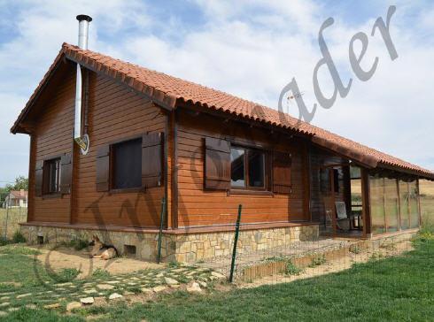 Casas de madera trini 120m2 - Infomader casas de madera ...