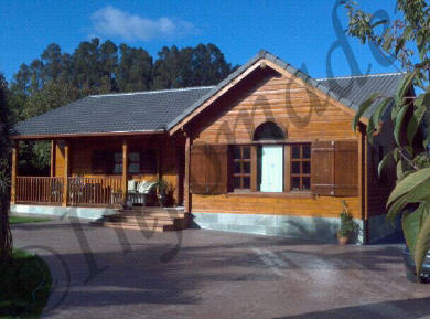 Casas prefabricadas madera infomader - Infomader casas de madera ...