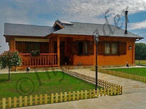 Casas de madera adriana 94m2 - Infomader casas de madera ...