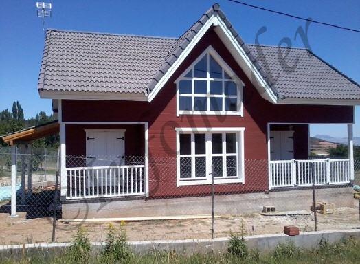 Casas de madera adelaida 136m2 - Infomader casas de madera ...
